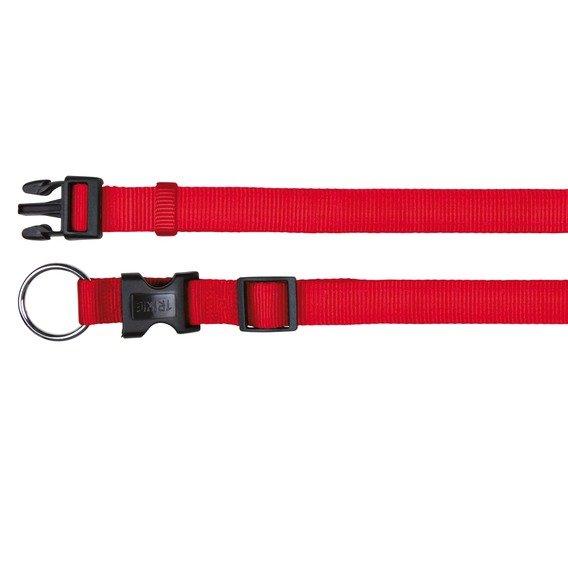 Nylonový obojek CLASSIC červený Trixie
