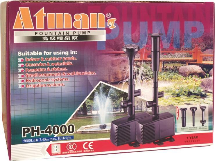 Fontánové čerpadlo PH Atman PH-4000