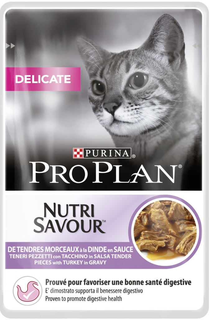 PRO PLAN Cat kapsička Delikate Turkey