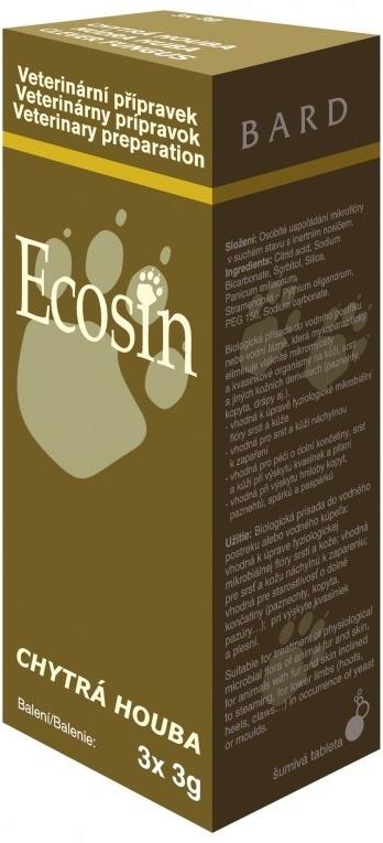 Ecosin chytrá houba pro zvířata