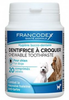 Francodex Toothpaste tablety 20 kapslí