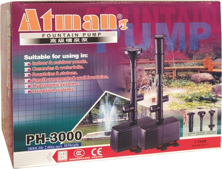 Fontánové čerpadlo PH Atman PH-3000