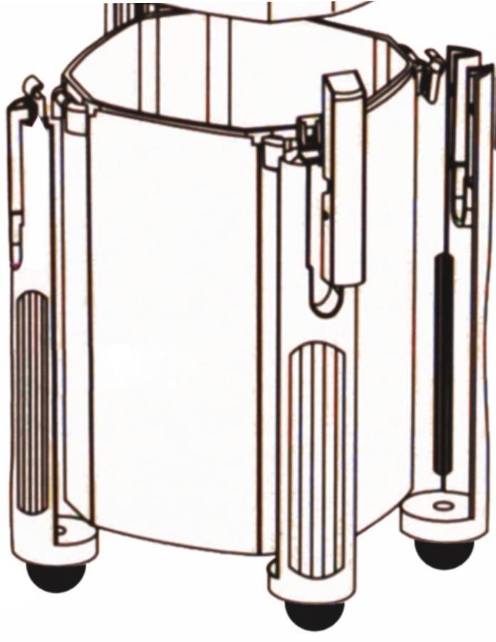 Náhradní díl plastová nádoba pro Atman CF-600
