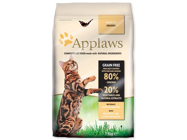 APPLAWS Dry Cat Chicken - granule pro kočky s kuřecím 7,5kg